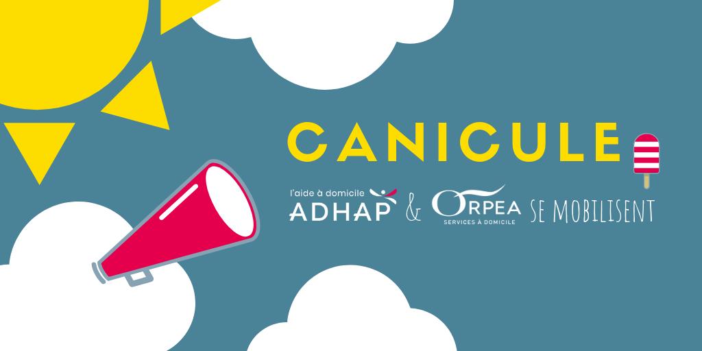 Canicule - Orpea et Adhap se mobilise